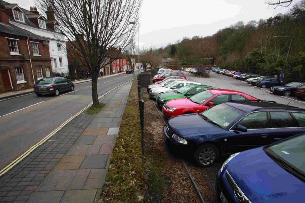 Under threat: the Chesil Street open air car park