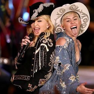 Hampshire Chronicle: Miley Cyrus performs with Madonna (AP)