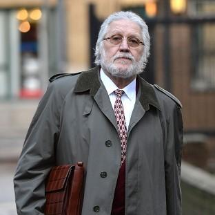 Hampshire Chronicle: Dave Lee Travis arrives at Southwark Crown Court in London