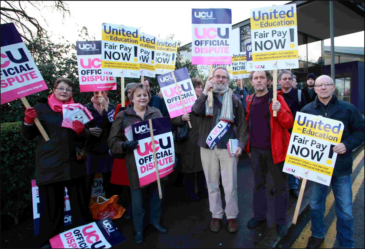 Lecturers are taking industrial action hoping to open negotiations on pay increases
