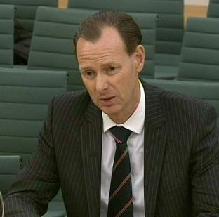 Hampshire Chronicle: Lawrence Tomlinson gives evidence in front of the Treasury Select Committee