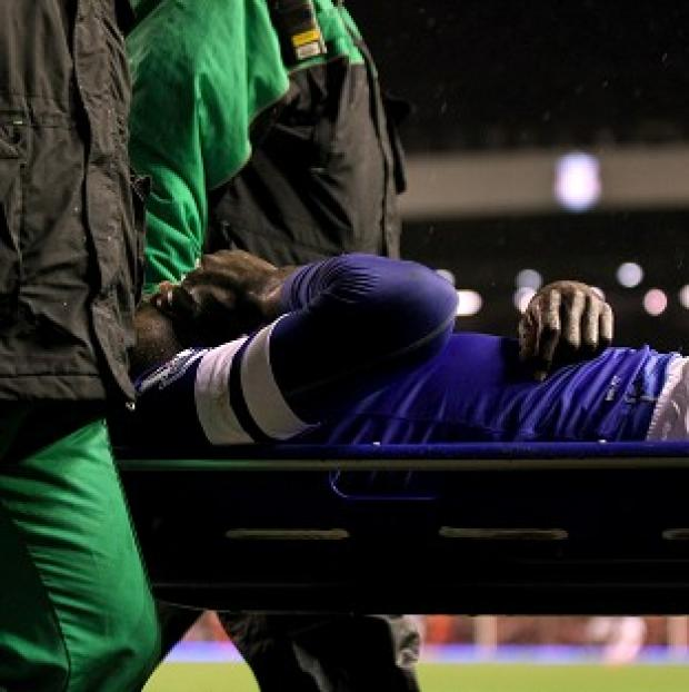Hampshire Chronicle: Everton fans feared the worst when Romelu Lukaku left the Anfield pitch on a stretcher