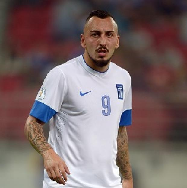 Hampshire Chronicle: Kostas Mitroglou will play for Greece at the 2014 World Cup