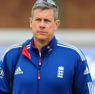 Steve Harmison believes Ashley Giles, pictured, should be given the chance to lead England in all three formats