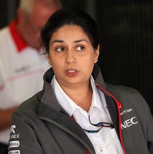Team principal Monisha Kaltenborn was 'satisified' with Sauber's first test performance