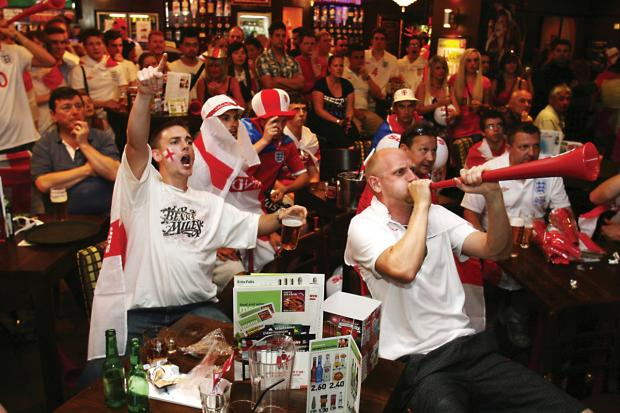 Watching England games at the pub is under threat