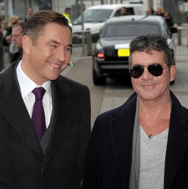Hampshire Chronicle: David Walliams came to Simon Cowell's aid when he started choking