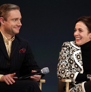 Martin Freeman and Amanda Abbington got married on screen in Sherlock