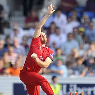 Lancashire's Stephen Parry has earned a call-up