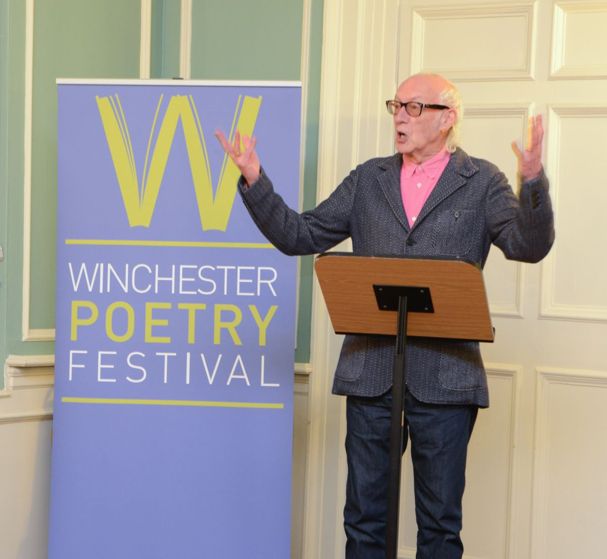 Friends of Winchester Poetry Festival launched last night