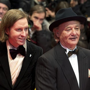 Wes Anderson and Bill Murray attended the Berlin premiere of The Grand Budapest Hotel