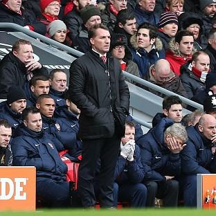 Brendan Rodgers thought Liverpool were 'brilliant' against Arsenal but ruled out being title contenders