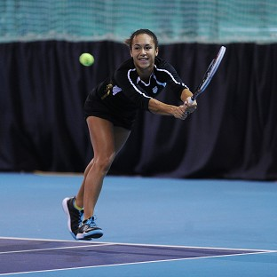 Heather Watson was part of the Great Britain team that was beaten 2-1 by Hungary