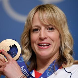 Jenny Jones says 'I'm just going to let myself enjoy this moment for a little bit and I'll keep snowboarding'