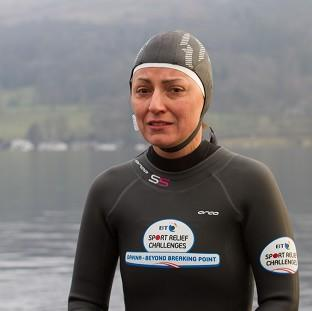 Hampshire Chronicle: Davina McCall is taking part in the latest Sport Relief Challenge