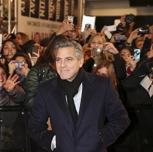 Hampshire Chronicle: George Clooney wrote, directed and stars in the Second World War comedy Monuments Men (AP)