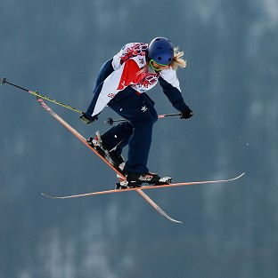 Katie Summerhayes finished seventh in Sochi