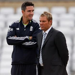 Shane Warne, right, believes it is a mistake to axe Kevin Pietersen, left, from the England side