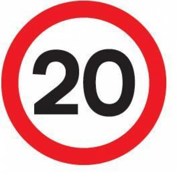 Lower speed limit for villages near Winchester