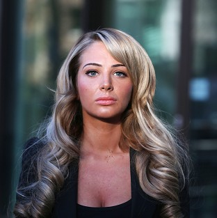 Tulisa Contostavlos denies an assault charge
