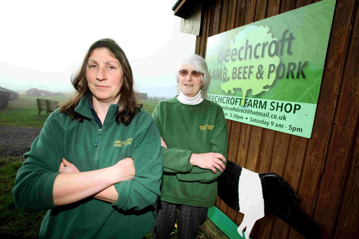 Owner Rachel Waldron (left) and her mum Joy (right) were left devastated after the break-in.
