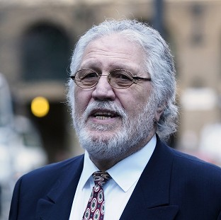 Dave Lee Travis arrives at Southwark Crown Court in London, as the jury in his trial continue to consider their verdicts