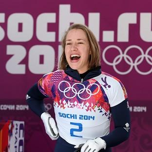 Lizzy Yarnold is on target for gold in Sochi