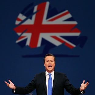 David Cameron's party recieved more than 4.8 million pounds in donations during the fourth quarter of 2013