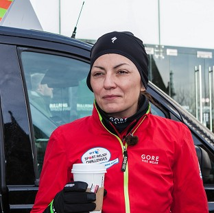 Davina in tears as challenge ends