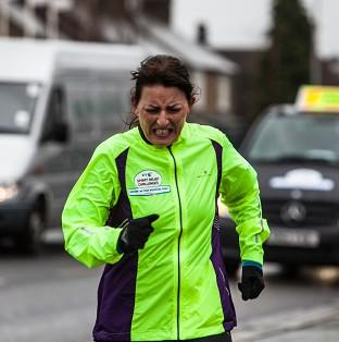 Davina Mcall broke down in tears as she finished