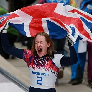 Lizzy Yarnold savours the m