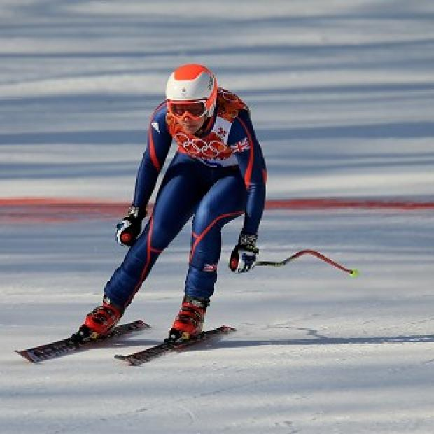 Hampshire Chronicle: Great Britain's Chemmy Alcott was disappointed with her performance