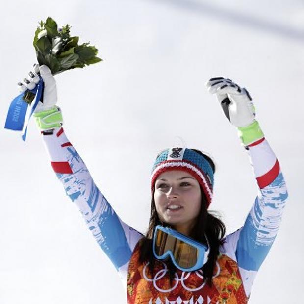 Hampshire Chronicle: Anna Fenninger won gold in the ladies' super-G (AP)