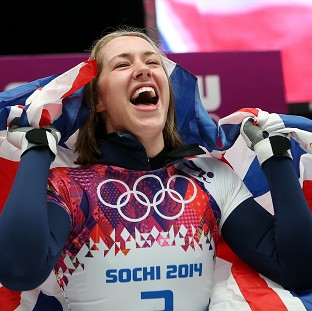Lizzy Yarnold will receive her gold medal in a ceremony on Saturday night