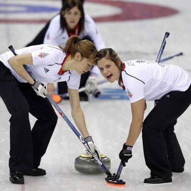 Hampshire Chronicle: Great Britain's women's curlers are through to the semi-finals (AP)