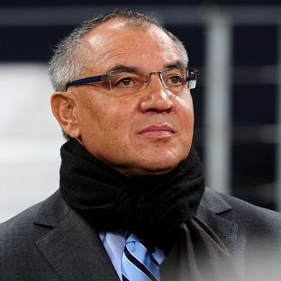 Felix Magath is hard at work in his new job at Fulham