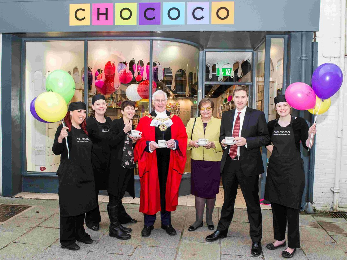 Award-winning chocolatier opens on Winchester High Street