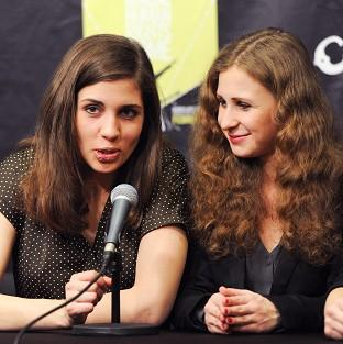 Nadezhda Tolokonnikova and Maria Alekhina are apparently being held in Sochi by police