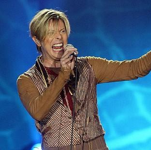 Hampshire Chronicle: File photo dated 17/11/03 of Singer David Bowie who is tipped for his first prize at the BRIT Awards for almost two decades, with Arctic Monkeys and Ellie Goulding also among favourites for the big event tomorrow.