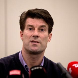 Michael Laudrup held a special press conference at Heathrow