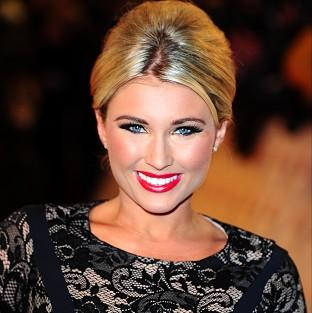 Billie Faiers is expecting a daughter with fiance Greg Shepherd