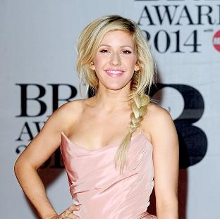 Hampshire Chronicle: Ellie Goulding arrives at the Brit Awards at the O2 Arena in London