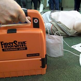 Research suggests a shortage of defibrillators and a lack of public