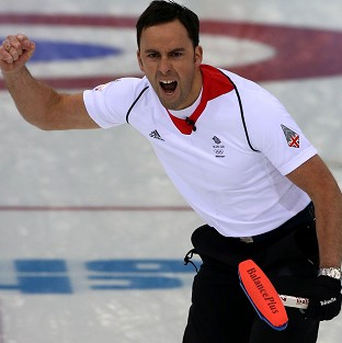 David Murdoch and his GB curling team will be going for gold in Sochi