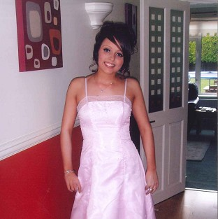 Hollie Gazzard, who died following an attack at the salon where she worked