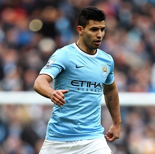 Sergio Aguero is close to a return to action