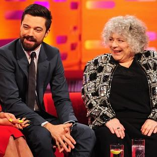 Miriam Margolyes was left bemused by her fe