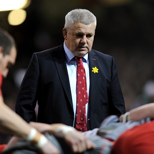 Warren Gatland was pleased with the character shown by his side