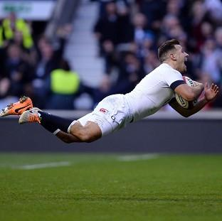 Danny Care dives in to score