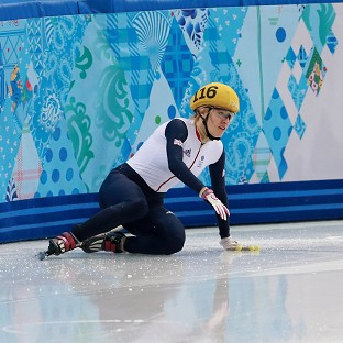 Elise Christie has had a Winter Olympics to forget
